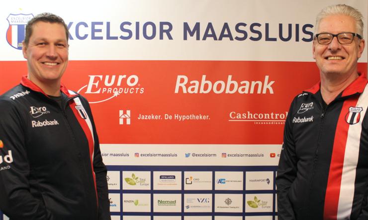 Teammanagers Martin vd Kooij en Hans vd Berg